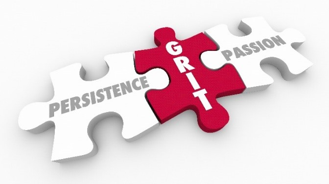 Grit = Passion + Persistence