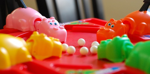 "Best career advice- ""Play Hungry Hungry Hippos"""