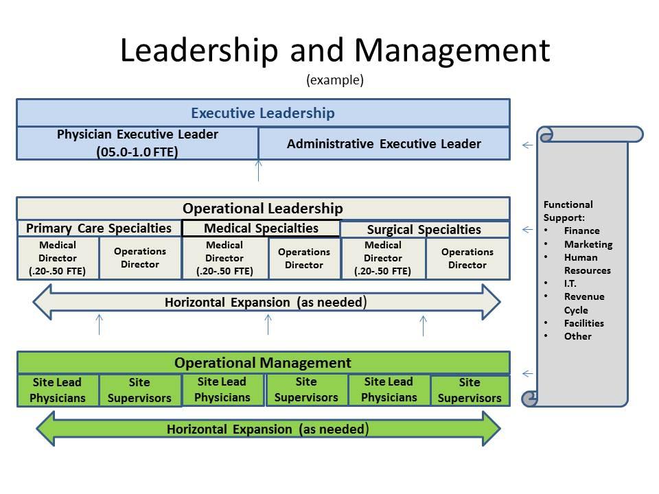leadership management flow chart